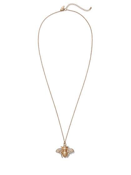 Bumblebee Pendant Necklace  - New York & Company