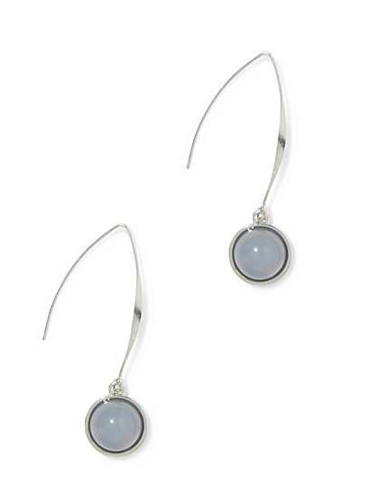 Cabochon Drop Earring  - New York & Company