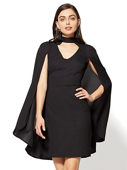 Cape Sheath Dress - New York & Company