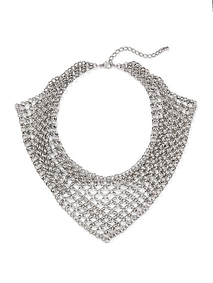 Chain Bib Necklace  - New York & Company