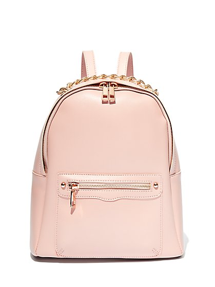 Chain-Link Accent Backpack - New York & Company