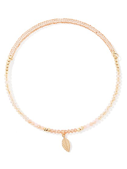Choker Pendant Necklace  - New York & Company