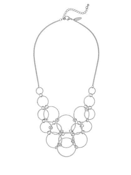 Circle Bib Necklace  - New York & Company