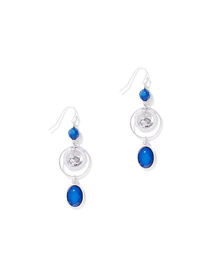 Circular Triple-Drop Earring - New York & Company