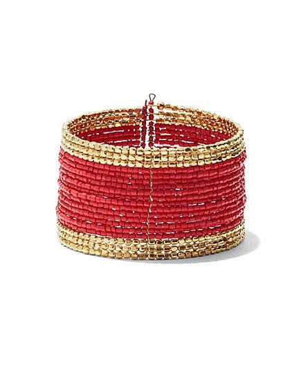 Colorblock Cuff Bracelet  - New York & Company