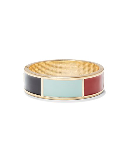 Colorblock Cuff Bracelet  - New York & Company