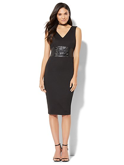 Corset Sheath Dress - New York & Company