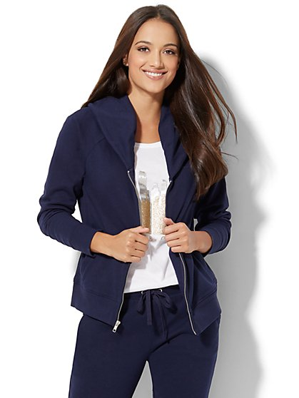 Cozy Shawl-Collar Jacket - New York & Company