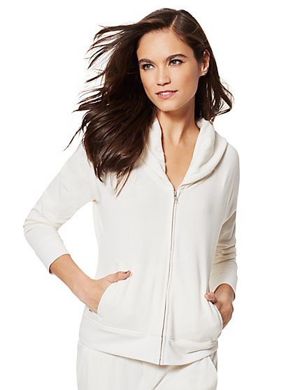 Cozy Shawl-Collar Jacket - New York & Company