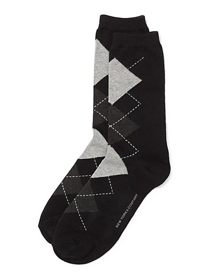 Crew Sock - Argyle  - New York & Company