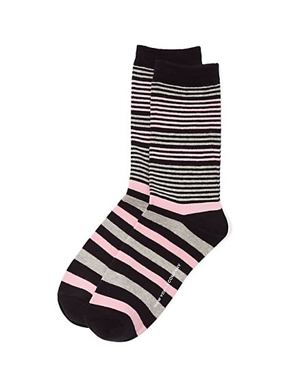 Crew Sock - Stripe - New York & Company