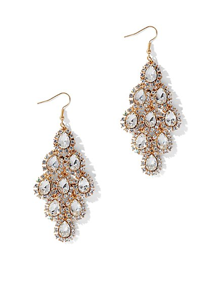 Crystal Drop Earring - New York & Company