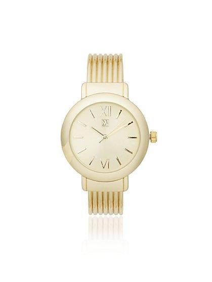 Cuff Bracelet Watch - New York & Company