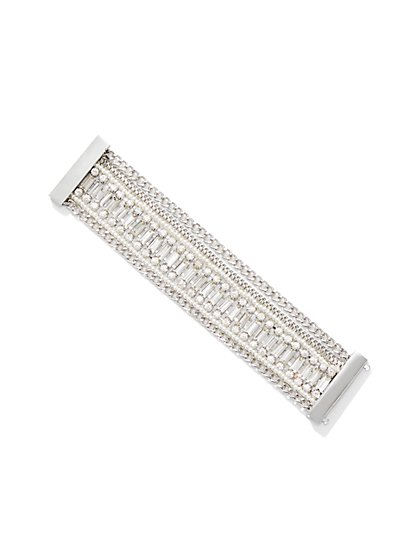 Dazzling Chain-Link Bracelet  - New York & Company