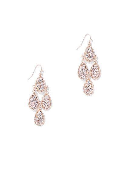 Dazzling Chandelier Drop Earring - New York & Company