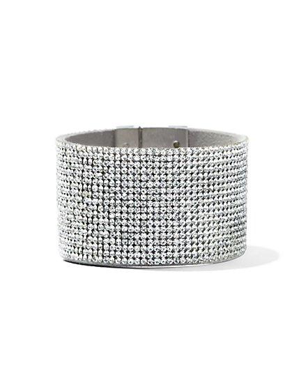 Dazzling Cuff Bracelet  - New York & Company