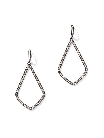 Dazzling Open Drop Earring - New York & Company