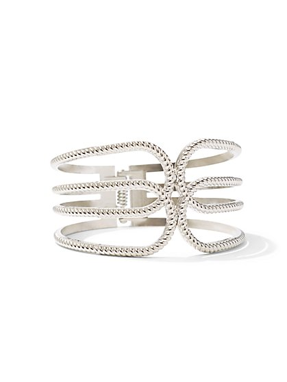 Double-Loop Hinge Bracelet  - New York & Company