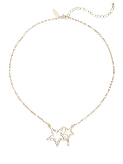 Double-Star Necklace  - New York & Company