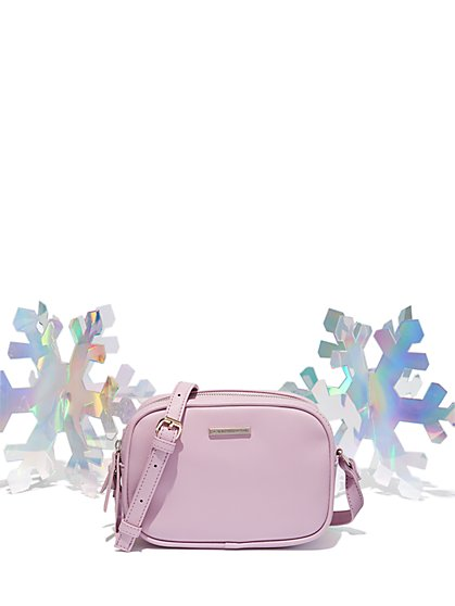 Double-Zip Crossbody Bag - New York & Company