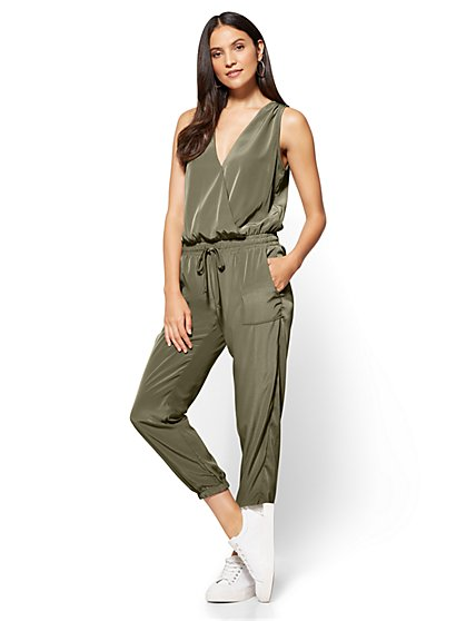 Drawstring Jumpsuit - New York & Company
