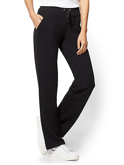 Drawstring Straight-Leg Pant - New York & Company