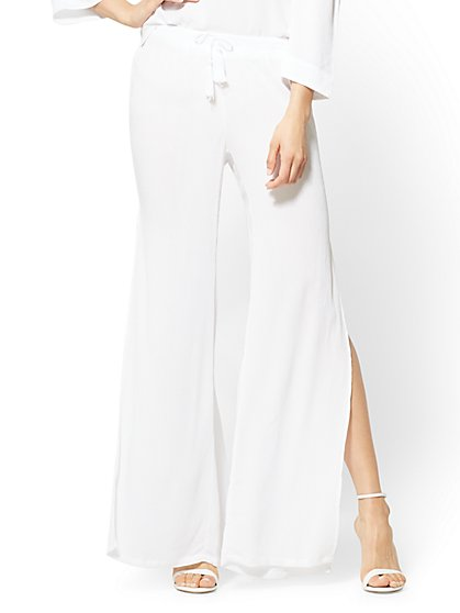 Drawstring-Tie Pant - New York & Company