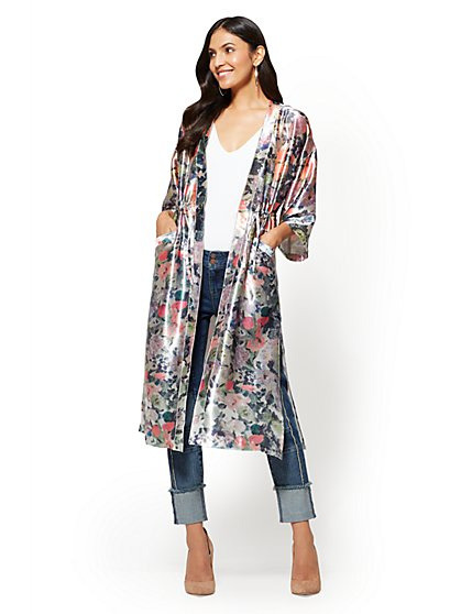 Duster Jacket - New York & Company
