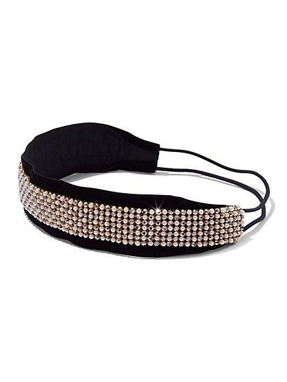 Embellished Velvet Headband  - New York & Company