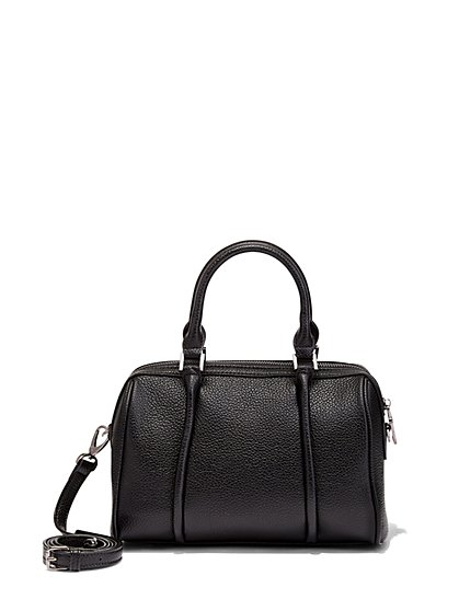 Embossed Mini Bag  - New York & Company