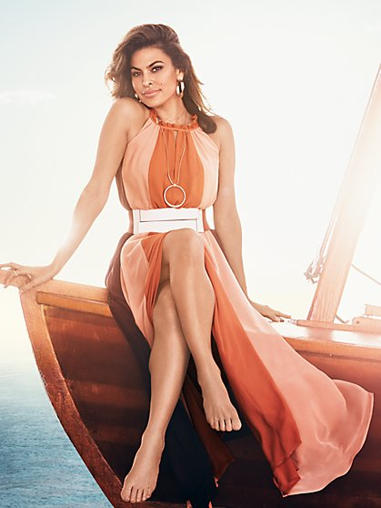 Eva Mendes Collection - Abella Maxi Dress - Petite - New York & Company
