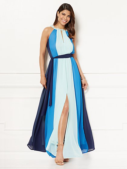 Eva Mendes Collection - Abella Maxi Dress - Petite - New York & Company