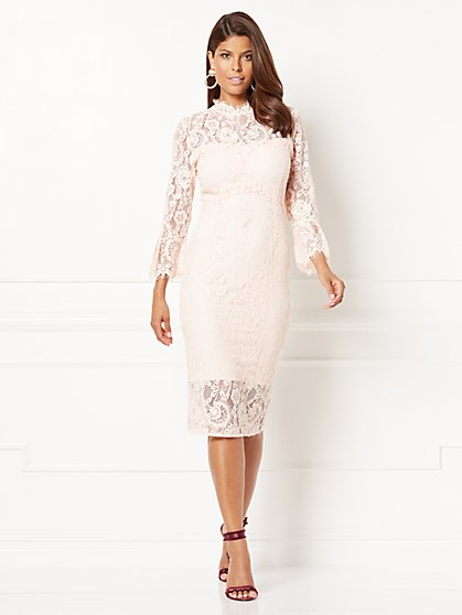 Eva Mendes Collection - Alexandra Lace Sheath Dress - New York & Company