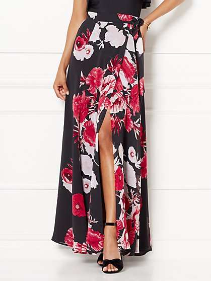 Eva Mendes Collection - Alin Slit Maxi Skirt - New York & Company