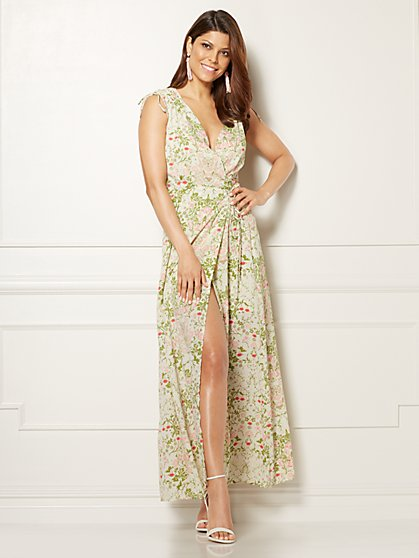 Eva Mendes Collection - Allegria Dress - Floral - Petite - New York & Company