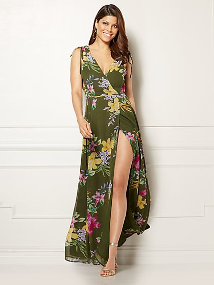 Eva Mendes Collection - Allegria Dress - Lily Print - New York & Company