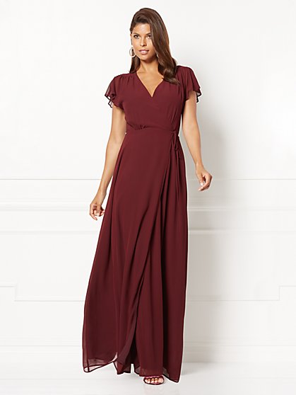 Eva Mendes Collection - Allison Wrap Dress - New York & Company