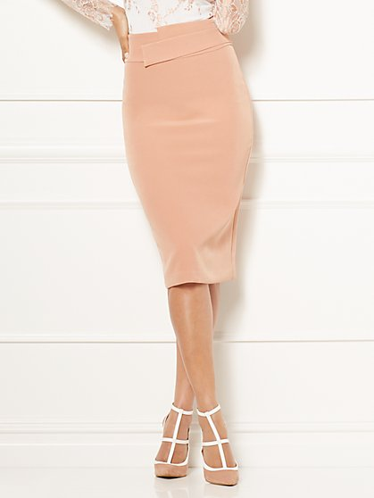 Eva Mendes Collection - Ana Origami Pencil Skirt - New York & Company
