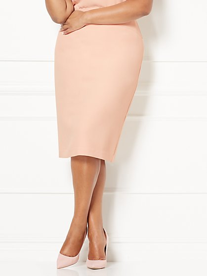 Eva Mendes Collection - Andra Pencil Skirt - Plus  - New York & Company