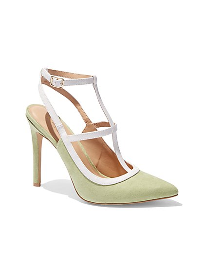 Eva Mendes Collection - Ankle-Strap Stiletto  - New York & Company