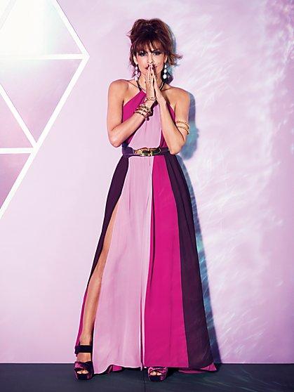 Eva Mendes Collection - Antonia Colorblock Maxi Dress - New York & Company