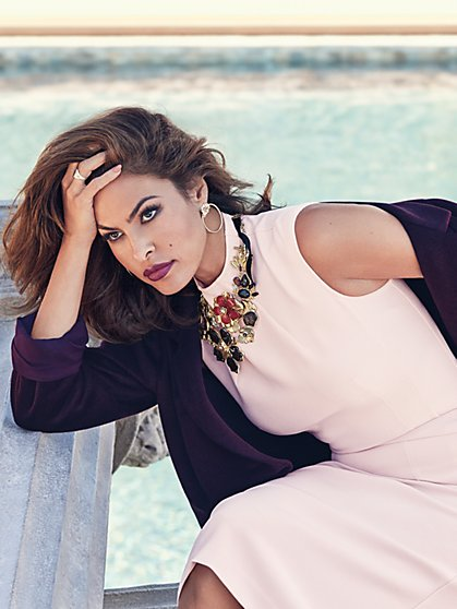 Eva Mendes Collection - Antonja Funnel-Neck Top  - New York & Company