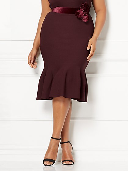 Eva Mendes Collection - Ariana Skirt - Plus - New York & Company