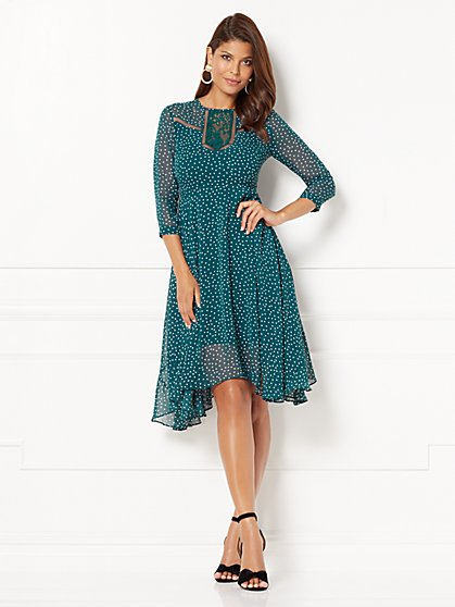 Eva Mendes Collection - Arissa Flare Dress - New York & Company