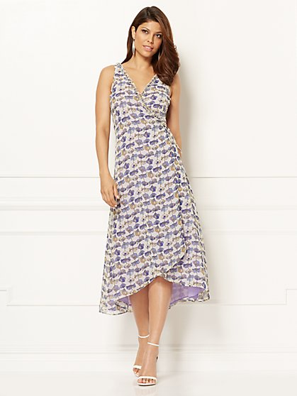 Eva Mendes Collection - Arsenia Wrap Dress - New York & Company