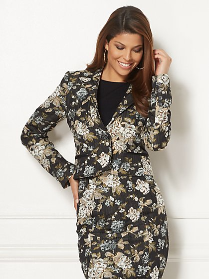 Eva Mendes Collection - Bruna Jacquard Jacket - New York & Company