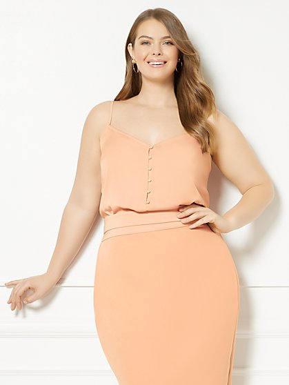 Eva Mendes Collection - Camille Camisole Top - Plus - New York & Company