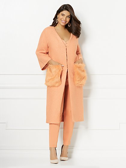 Eva Mendes Collection - Cantabria Wool Coat - New York & Company