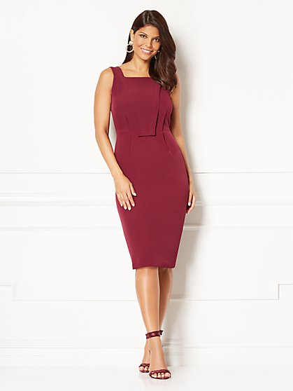 Eva Mendes Collection - Carissa Sheath Dress - Petite  - New York & Company