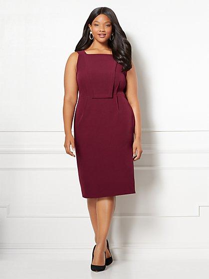 Eva Mendes Collection - Carissa Sheath Dress - Plus - New York & Company